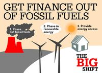 Get Finance out of Fossil Fuels – Monday 17th public meeting