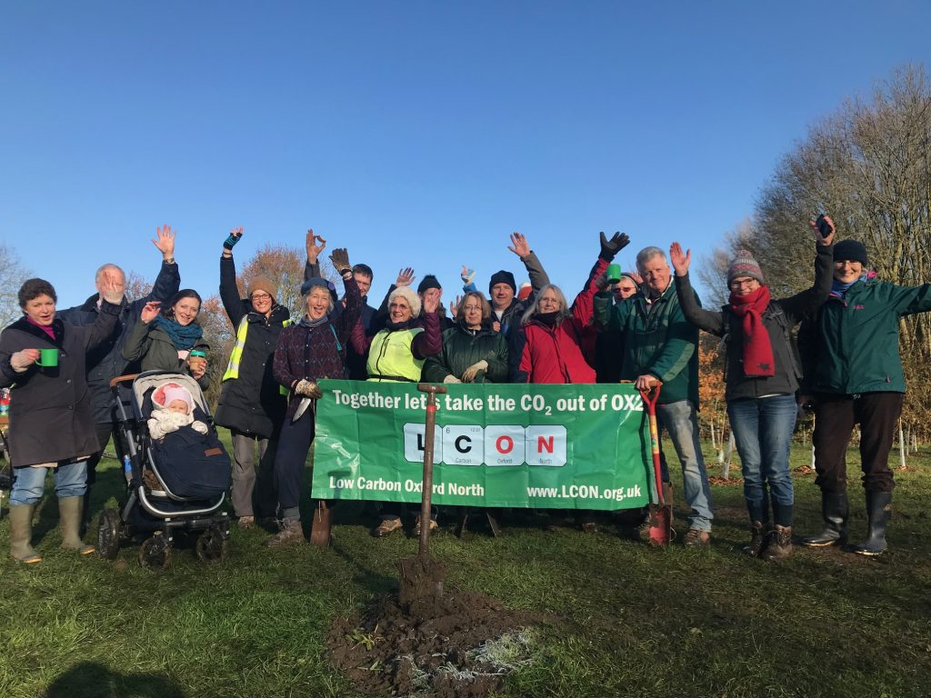 500 new trees planted in North Oxford!