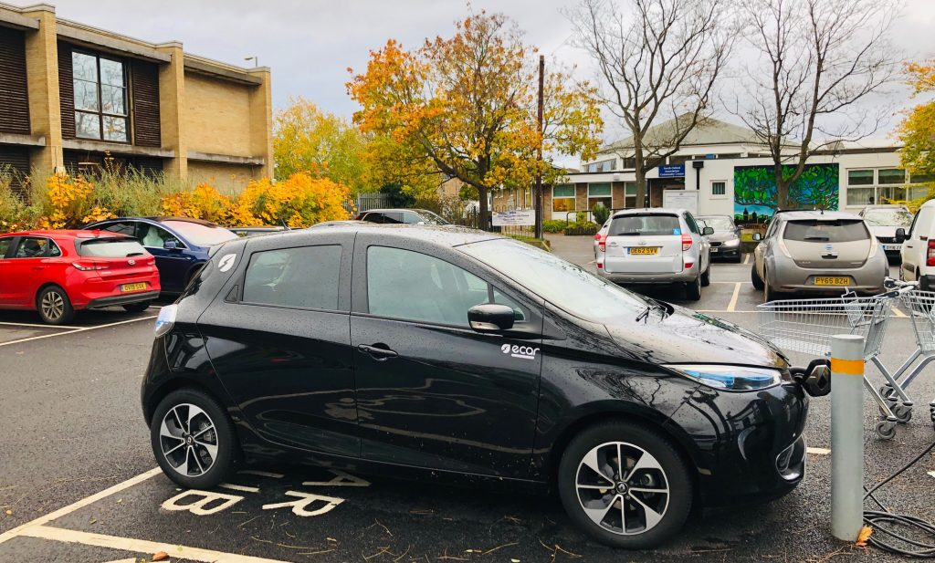 E-Car Club is leaving Oxford