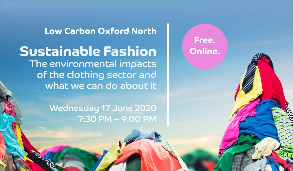 Webinar on Sustainable Fashion – key messages, recording and slides