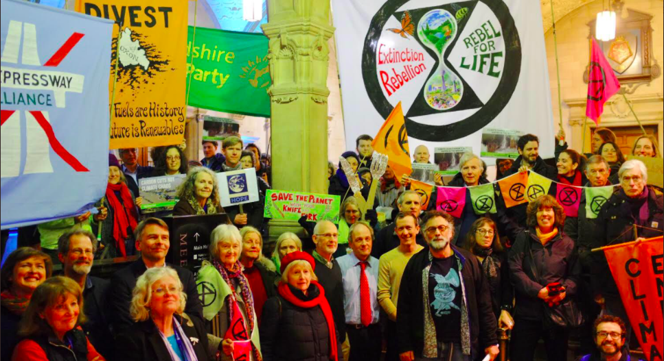Let's not forget about the climate emergency: write to your local councillors