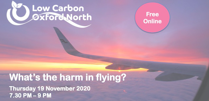 What's the harm in flying? Key messages and recording now available